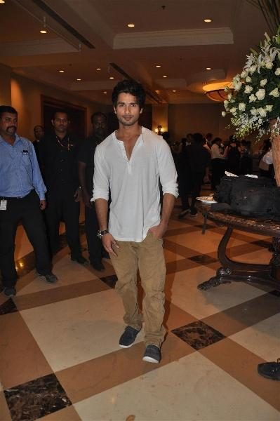 Shahid Looking Very Handsome at At IIFA 2012 Press Conference