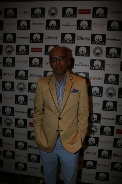 Narendra Kumar at Cotton Council Fashion Show