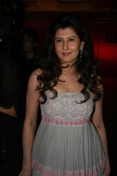 Sangeeta Bijlani at Anita Dongre Cotton Council Fashion Show