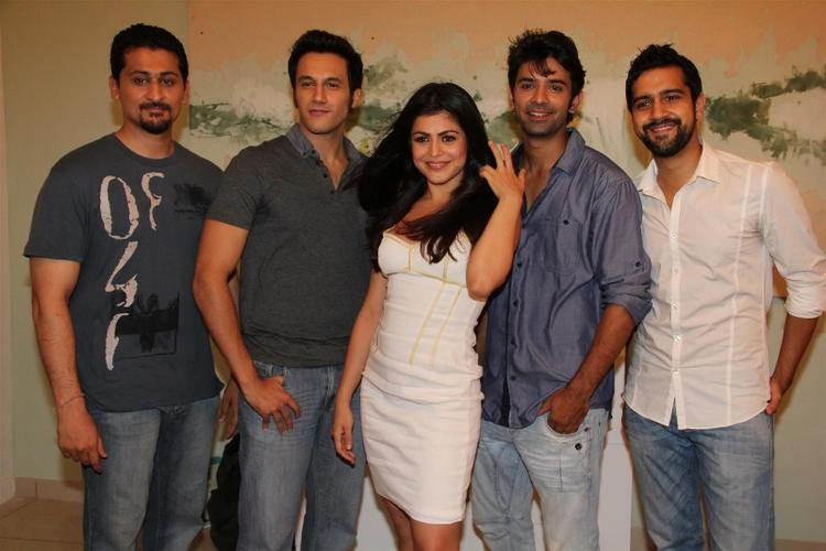 Shenaz,Barun,Danny And Kavi At The Inaugural Of Main Aur Mr Right