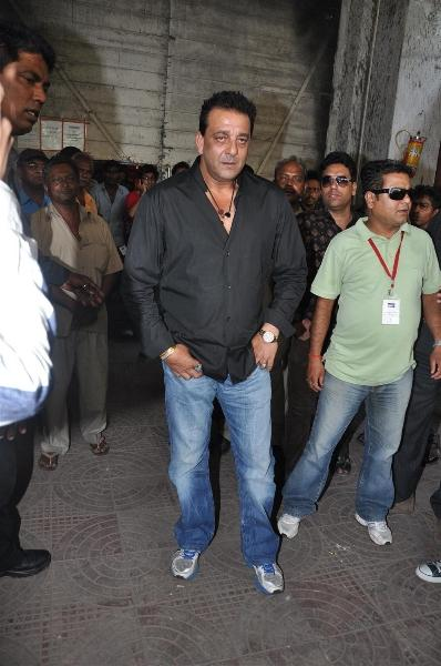 Sanjay Dutt Stylist Photo With Black Shirt and Jeans