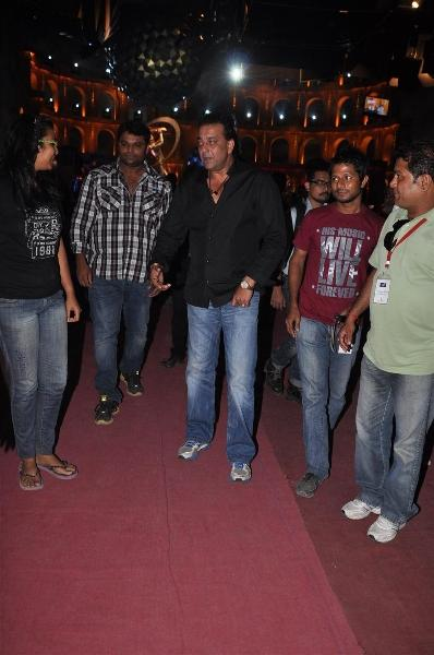 Sanjay Dutt Was Spotted On The Sets of Extra Innings T-20