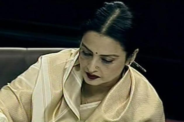 Bollywood Evergreen Actress Rekha At Rajya Sabha