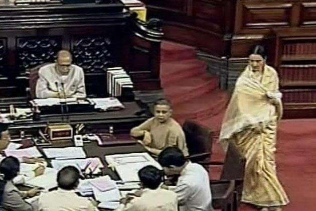 New MP Rekha At Rajya Sabha
