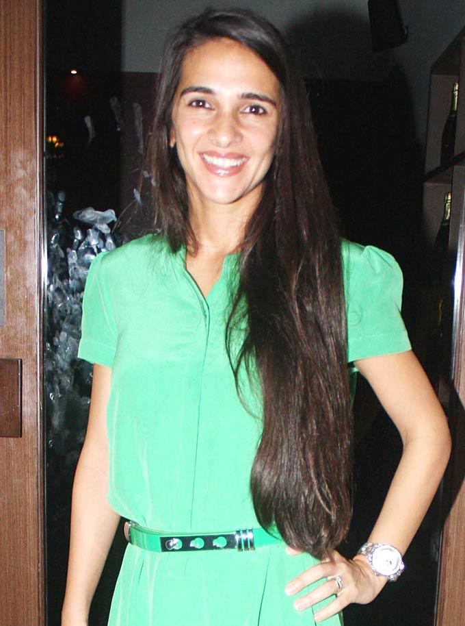 Tara Sharma at The Forest Success Party