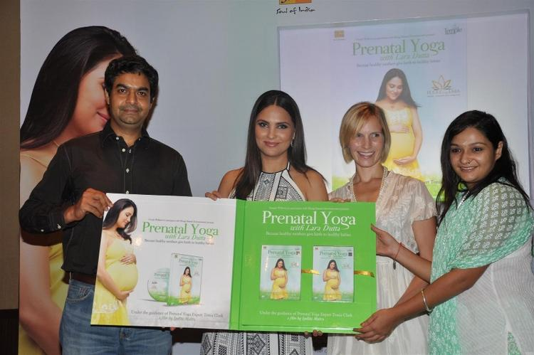 Lara Dutta Has Her Own Prenatal Yoga DVD