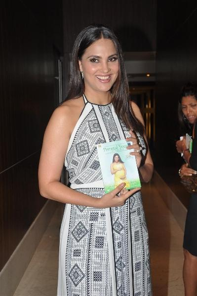 Lara Dutta At Prenatal Yoga DVD Launch