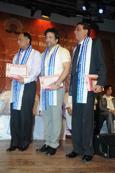 Chandru Punjabee During Mother Teresa Awards 2012
