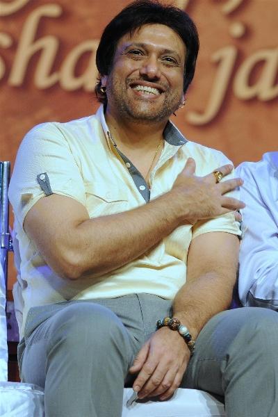 Govinda Smiling Photo at Mother Teresa Award