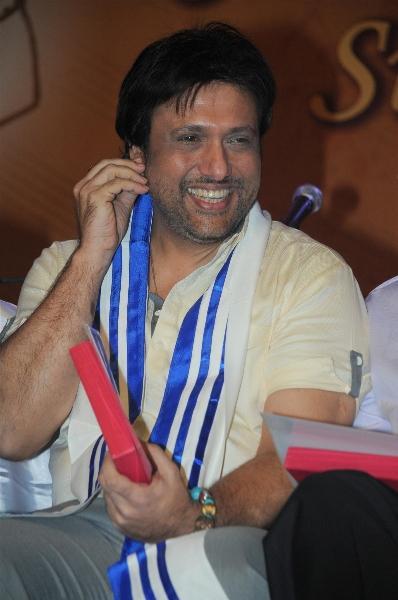 Govinda Smiling Photo at Mother Teresa International Award
