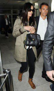 Actress Freida Pinto Arrives At Nice Airport