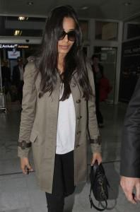 Freida Pinto Arrive At Nice Airport For Cannes Festival