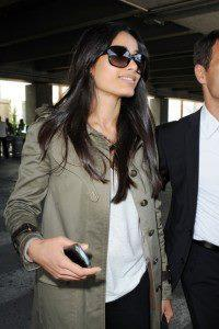 Freida Pinto Glamour Look At Nice Airport