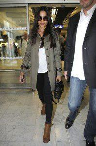 Freida Pinto Spotted At Nice Airport