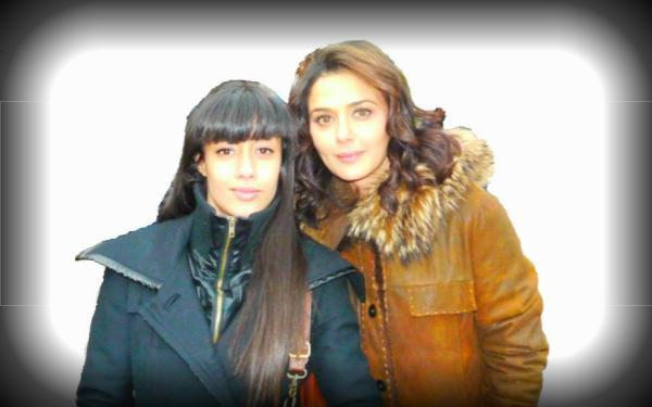 Gorgeous Beauty Preity Zinta On The Sets Ishq In Paris