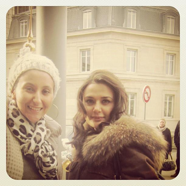 Preity Zinta was Spotted On The Sets Ishq In Paris