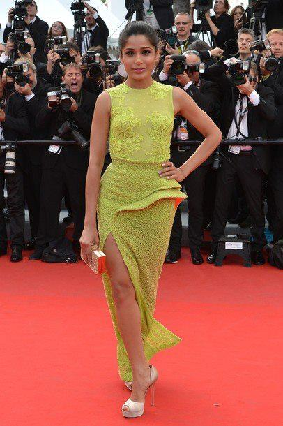 Freida Pinto on Day 2 of the Cannes Film Festival