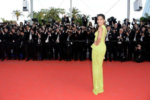 Freida Pinto Walked The Red Carpet At The Cannes