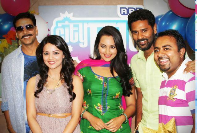 Akshay,Sonakshi,Prabhu And Others Promo The Rowdy Rathore