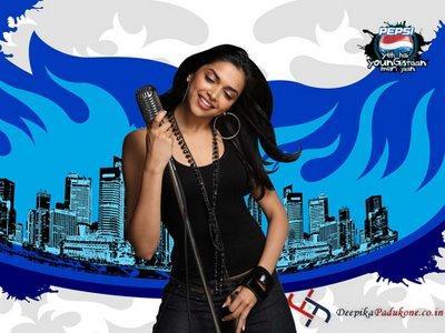 Deepika Padukone Pepsi Ad Wallpaper