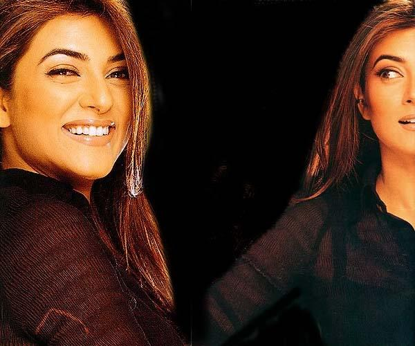 Sushmita Sen Sweet Smiling Wallpaper