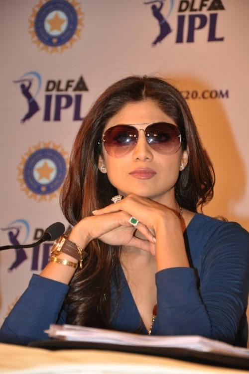 Shilpa Shetty Stylist Look In IPL