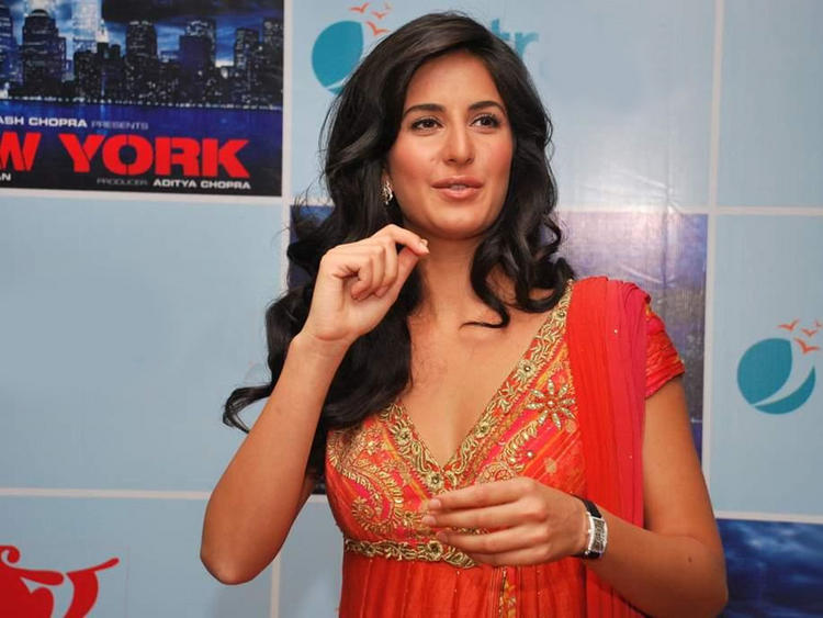 Katrina Kaif Curly Hair Cute Pic