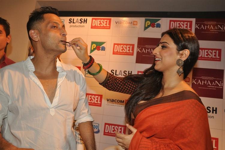 Vidya Balan at The Launch Of Kahaani Movie DVD