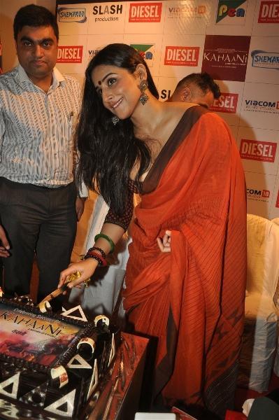 Vidya Balan Launches Kahaani Movie DVD