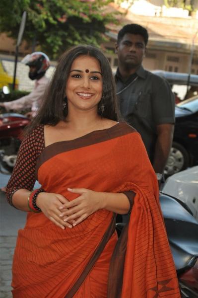 Vidya Balan Looking Beautiful In Saree