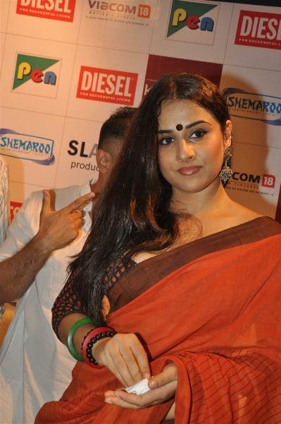 Vidya Balan Nice Look at The Launch Of Kahaani Movie Home Video