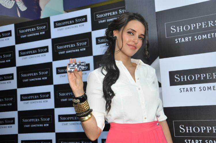 Neha Dhupia Launch Of The Shoppers Stop Gift Cards