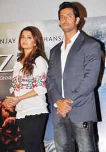 Aish and Hrithik Good Looking Pic