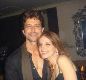 Hrithik Roshan and Suzzane Sweet Gorgeous Pic