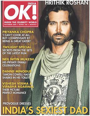 Hrithik Roshan Ok Magazine Still