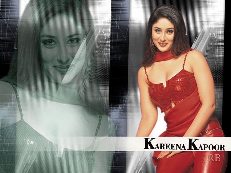 Kareena Kapoor Sexy Red Dress Stylist Wallpaper