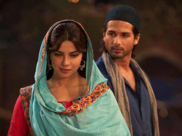 Shahid And Priyanka In Teri Meri Kahaani