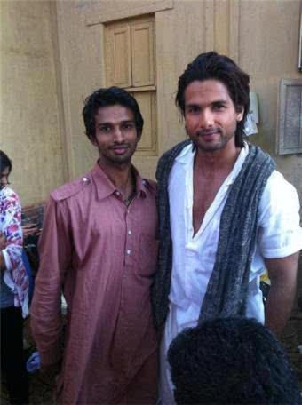 Shahid Kapoor Nice Look On The Sets