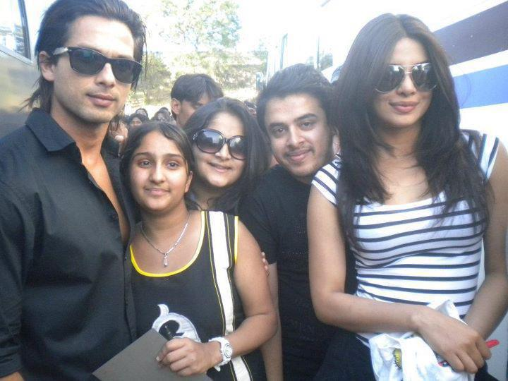 Shahid,Priyanka And Others Are In The Sets Of Teri Meri Kahaani