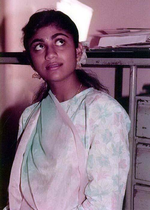 Shilpa Shetty Childhood Photo