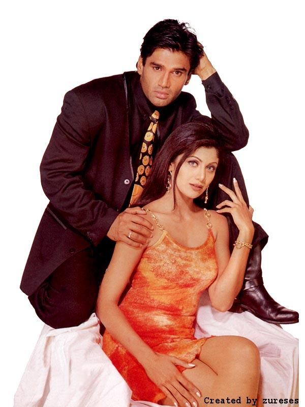 Sunil Shetty And Shilpa Shetty Photo