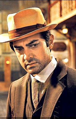 Aamir Khan Cute Face Acting Still