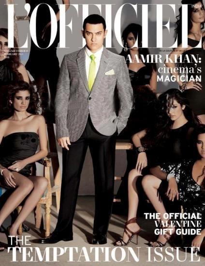 Aamir Khan L;officiel Magazine Still