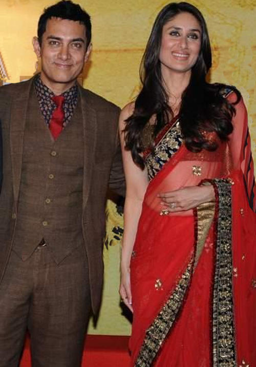 Bebo and Aamir Cute Pose Pic
