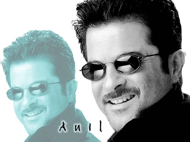 Anil Kapoor Sexy Smile and Stylist Look Wallpaper