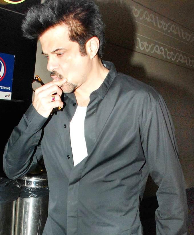 Anil Kapoor Dazzling Face Look With Cool Pics At Airport