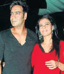 Ajay Devgan and Kajal Gorgeous Pic