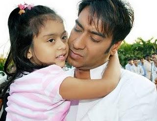 Ajay Devgan With Daughter