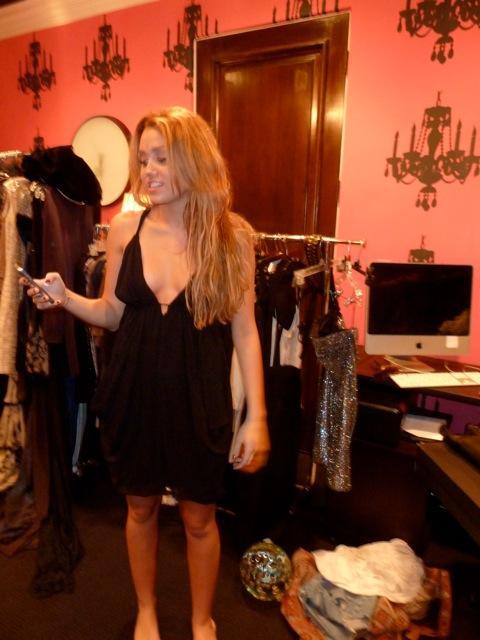 Miley Cyrus Short Dress Picture
