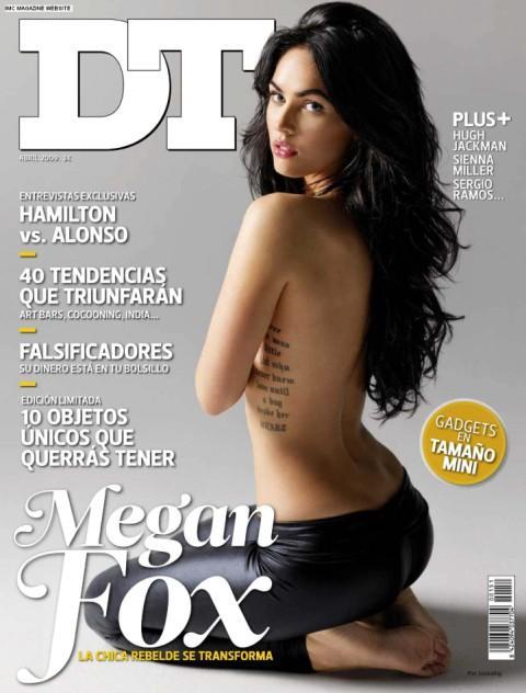 Megan Fox Top Less Dress Still